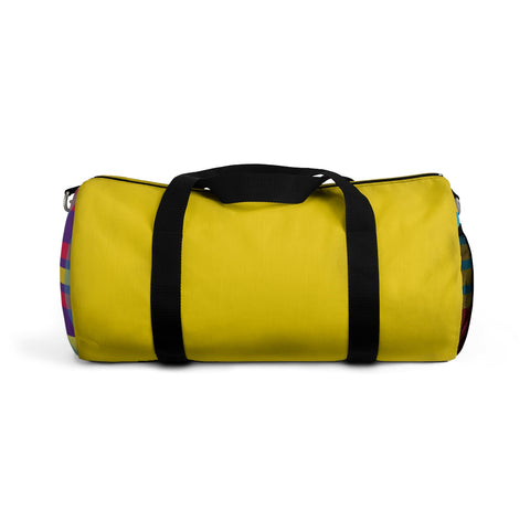 MERRY PLAID Duffel Bag (gold)