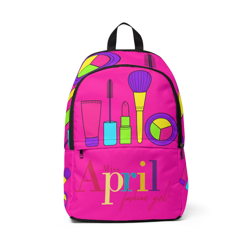 LET'S MAKE UP NEON PINK BACKPACK