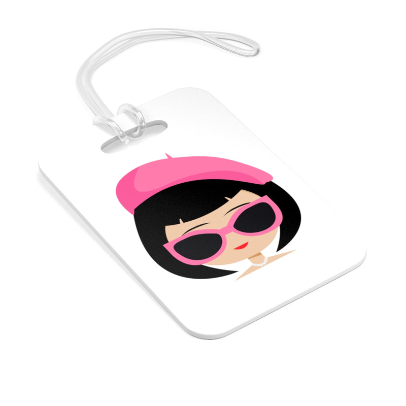 BOUGIE GIRLS BAG TAG (peach)