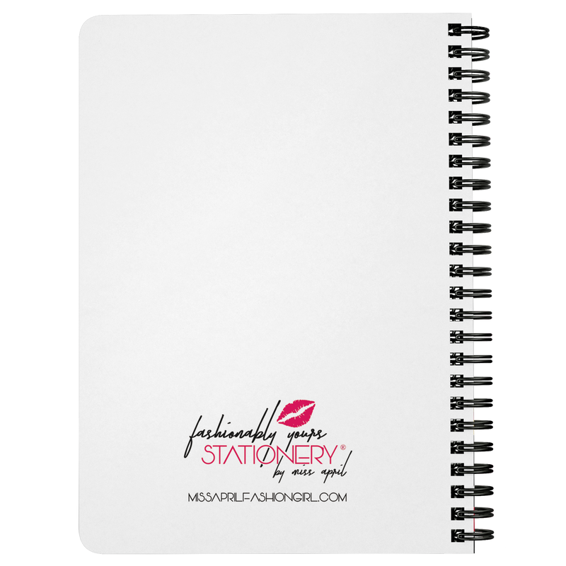 MISS APRIL SPIRAL NOTEBOOK