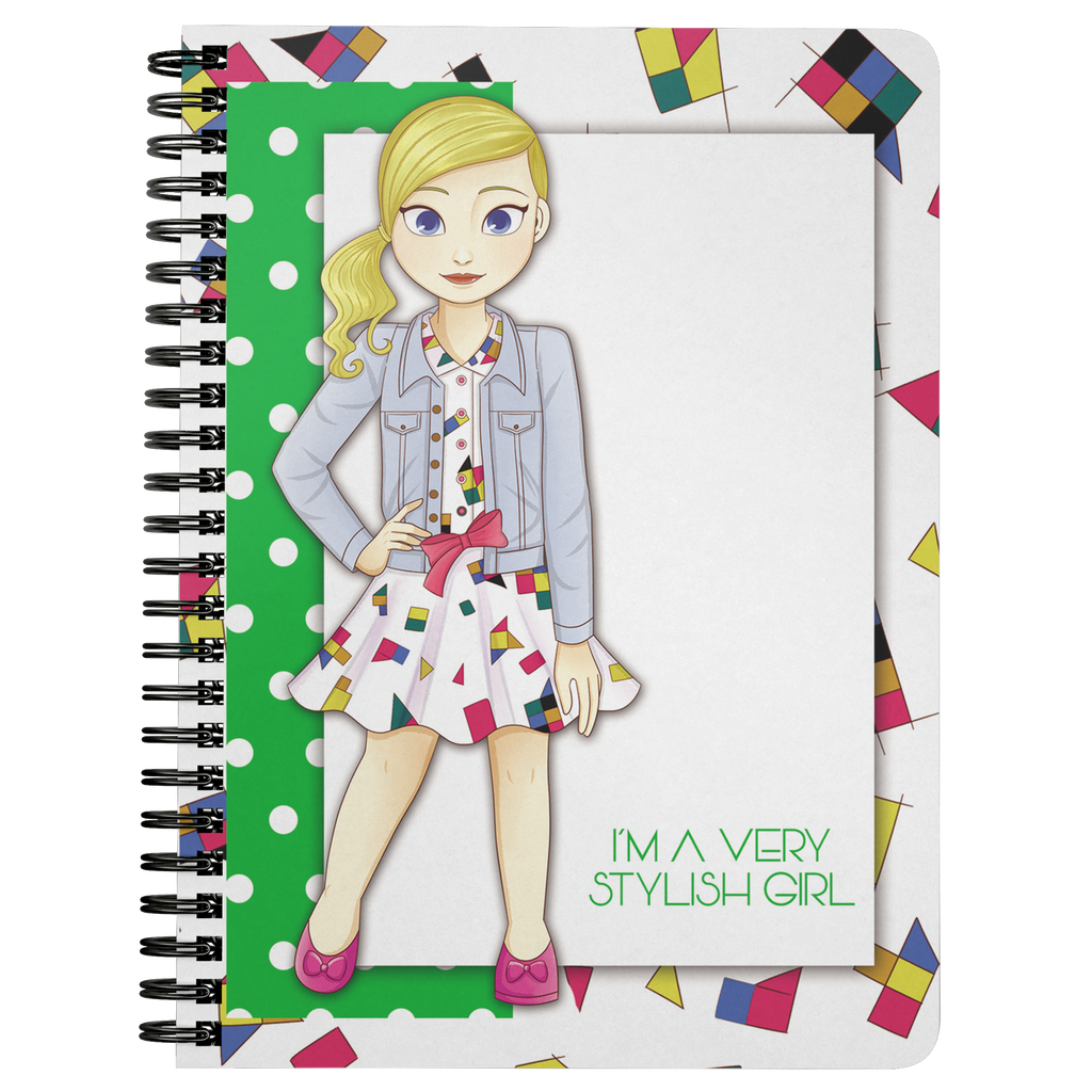 MISS BIANCA SPIRAL NOTEBOOK