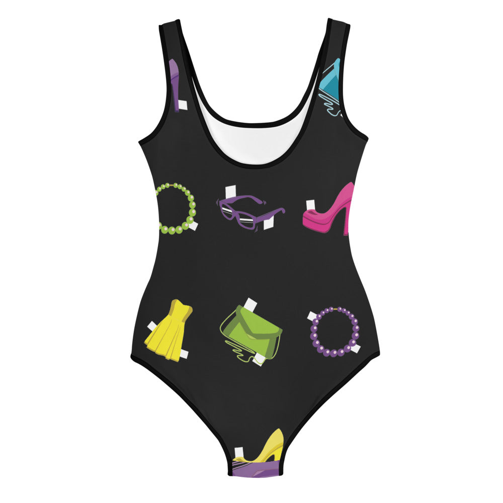 PAPER DOLL YOUTH SWIMSUIT