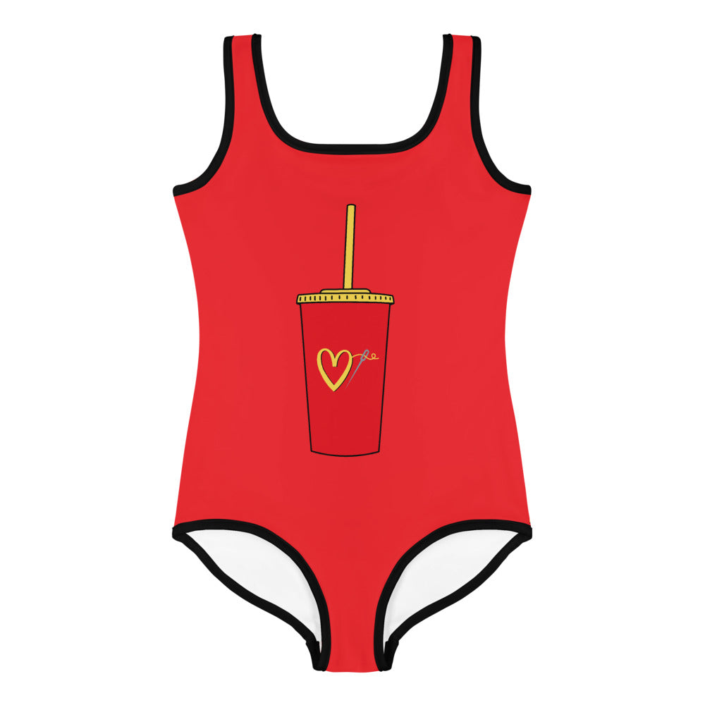 FAST FASHION LITTLE GIRLS SWIMSUIT