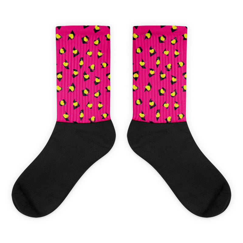 TOTALLY 80's SOCKS- PINK