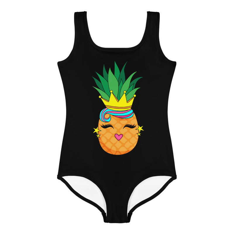 BE A PINEAPPLE LITTLE GIRLS SWIMSUIT