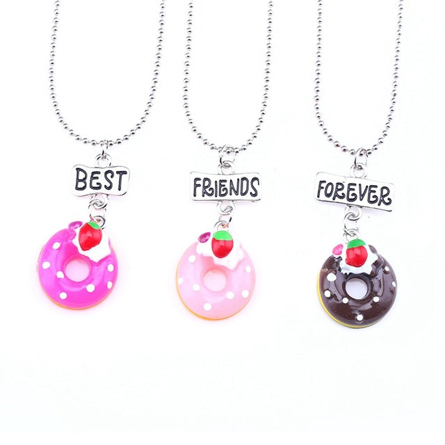 BFF Necklace Set 3pcs