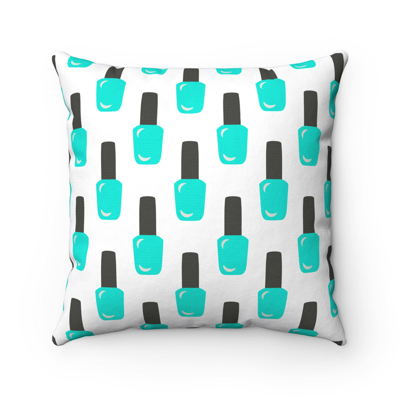 SO POLISHED (TEAL) PILLOW CASE