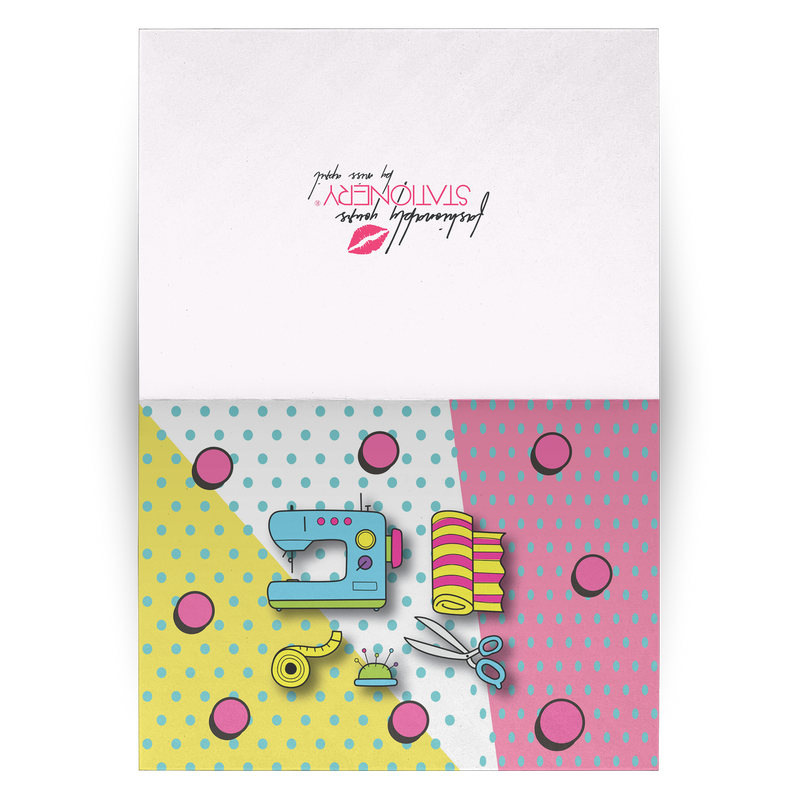 SEW FANTASTIC! NOTE CARD