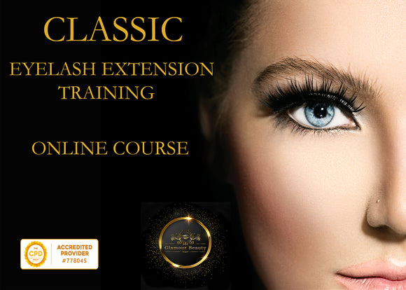 CLASSIC Individual eyelash extensions training course - Glamour Beauty