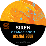 Siren Craft Brew Orange Boom!