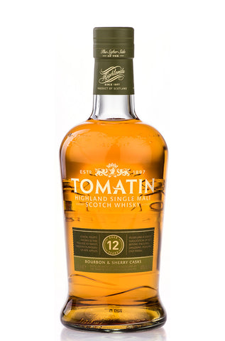 Tomatin Single Malt Scotch Whisky (12 Year Old)