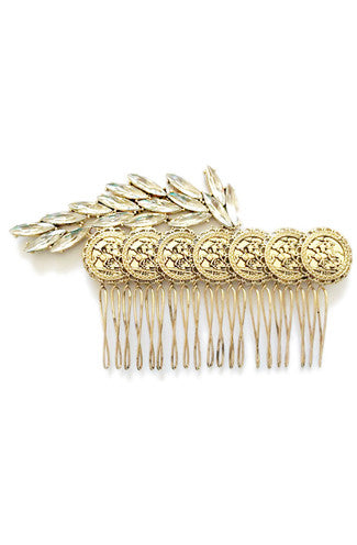 8 Other Reasons Bravado Gold Coin Haircomb