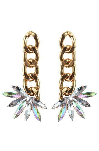 8 Other Reasons Stone Cold Drop Earrings in Gold