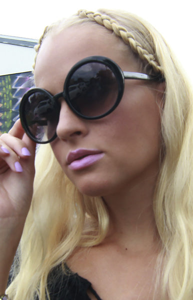 Audrey Round Sunglasses -Shot 2