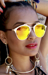 "alt=""Bar-From-It-Metal-Crossbar-Yellow-and-Orange-Mirrored-Sunglasses-in-Gold"""