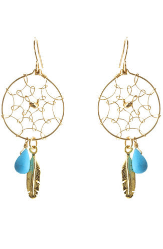 Chibi Dreamcatcher Earrings