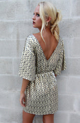 "alt=""Gold-Disco-Bell-Sleeve-Dress-Back2"""