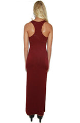 "alt=""double-slit-maxi-tank-dress-in-wine-back"""