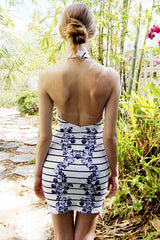 "alt=""MINKPINK-Feast-of-Love-Stripe-BodyCon-Halter-Dress-back"""