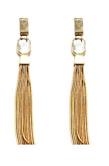 "alt=""gold-metal-tassel-gem-earrings"""