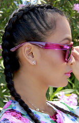 "alt=""Poolside-Pink-and-Orange-Mirrored-Sunglasses-in-Magenta-side"""