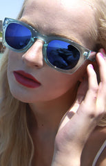 "alt=""Poolside-Blue-Mirrored-Sunglasses-in-Light-Blue"""