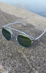 "alt=""Retro-Hipster-Metal-Crossbar-Silver-Mirrored-Sunglasses-in-Silver"""
