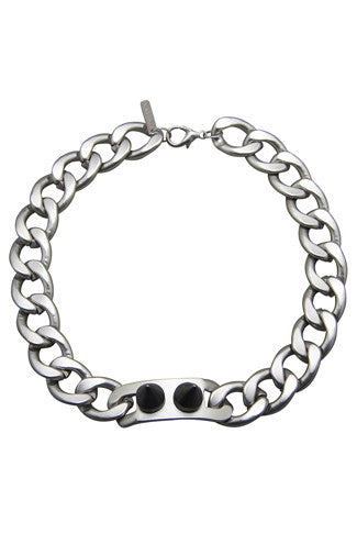 8 Other Reasons The Battle I.D. Choker in Matte Silver