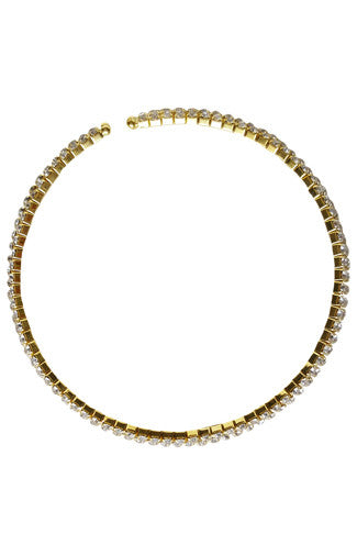 Bling Bling Choker Set in Gold -Shot 2