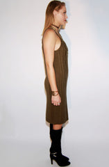 "alt=""cable-knit-sleeveless-sweater-dress-in-olive-side"""