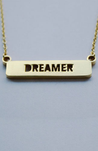 Jaeci Delicate Dreamer Necklace in Gold