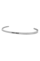 "alt=""jaeci-good-shit-delicate-bangle-in-silver"""