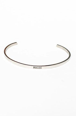 Jaeci Magic Delicate Bangle in Silver