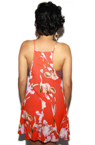MINKPINK Tangerine Dream Swing Dress -Shot 2