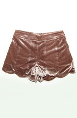 "alt=""velvet-scalloped-shorts-in-bronze-metallic"""