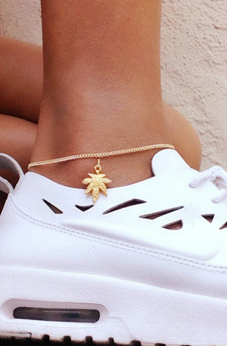 VidaKush Mary Jane Gold Anklet -Shot 2
