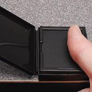 "1-3/4"" x 2-1/4"" Ceramic Fingerprint Pad"