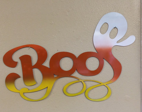 Boo - Halloween Wall Decor