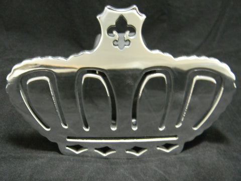 Fleur De Lis Crown Hitch Cover