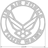 US Air Force Name Sign/Plaque