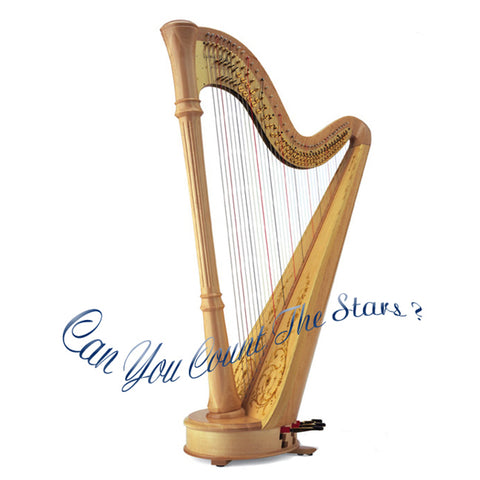 """Can You Count The Stars"" - Harp music on CD by Naomi Fried"