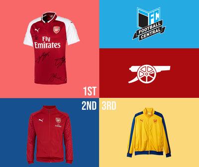 Win a Signed Arsenal Jersey! Enter Now