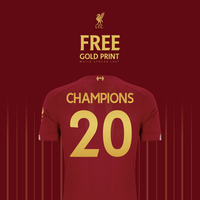 Free Gold Print on LFC Jerseys 🔥