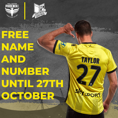 Free Personalisation on 19/20 'Nix Jerseys! 🔥