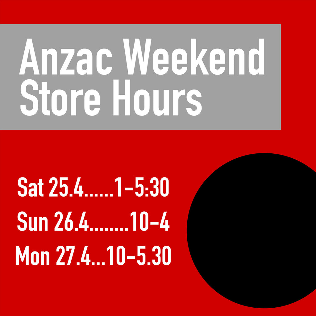 Anzac Weekend Store Opening Hours