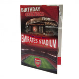 Arsenal Pop-Up Birthday Card