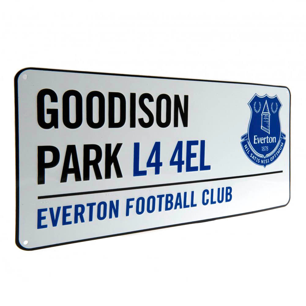 Everton Street Sign