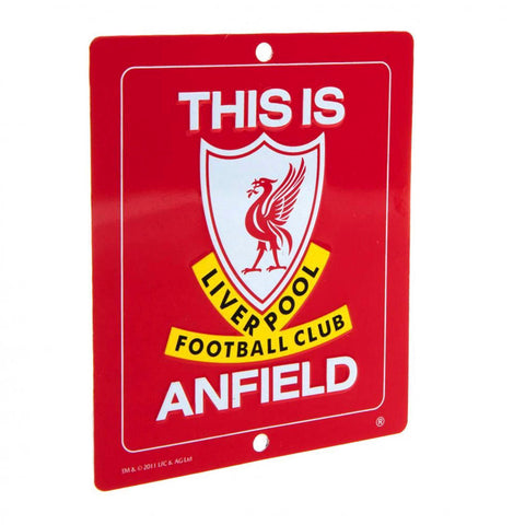 Liverpool This is Anfield Sign
