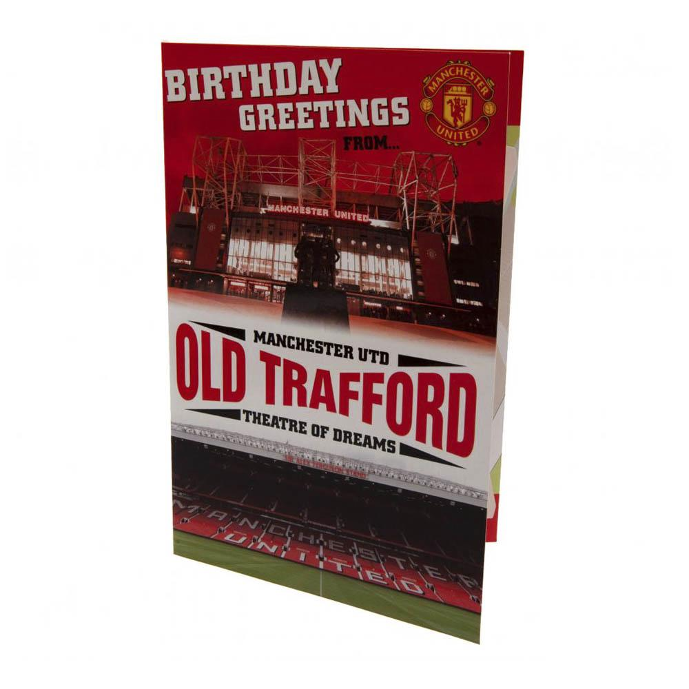 Manchester United Pop-Up Birthady Card