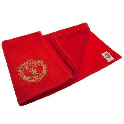Manchester United embroidered towel